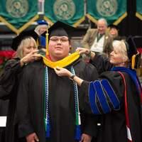 Cody Robinson Graduate from NSU's Graduate College