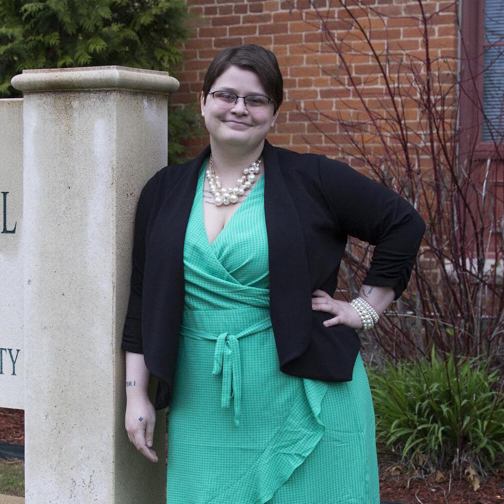 Gemini Creason Graduate from NSU's Graduate College