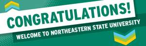 Congratulations! Welcome to Northeastern State University